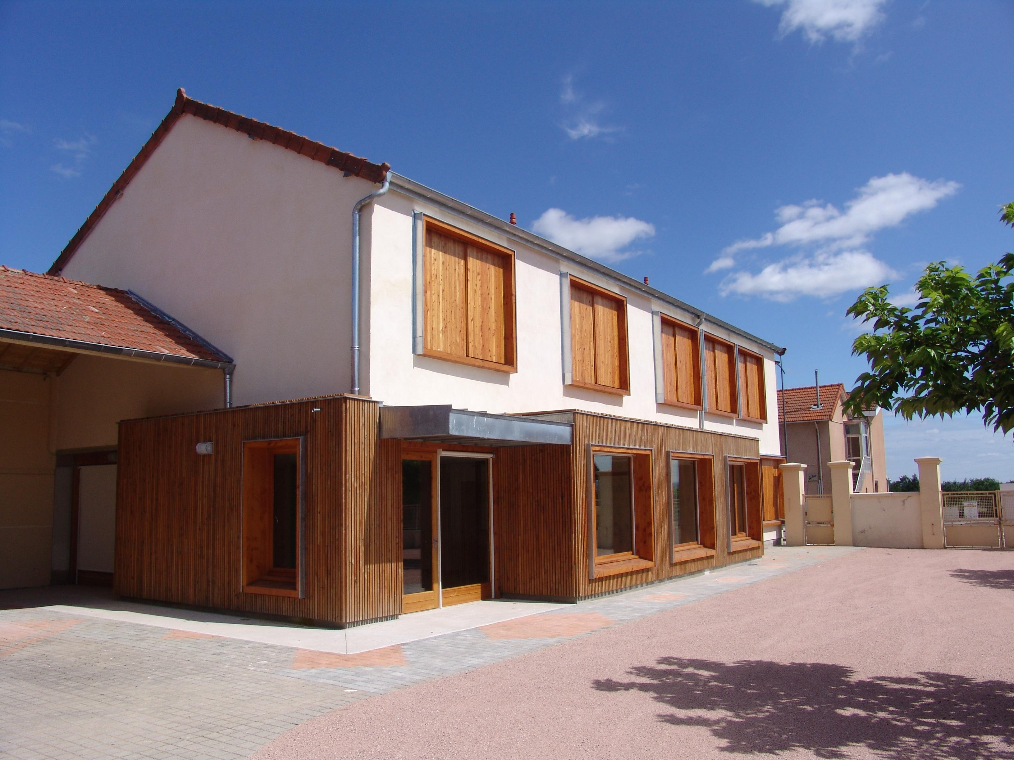 Réhabilitation d'un bâtiment pour l'association EPICES