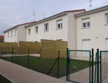 Construction de six maisons de ville