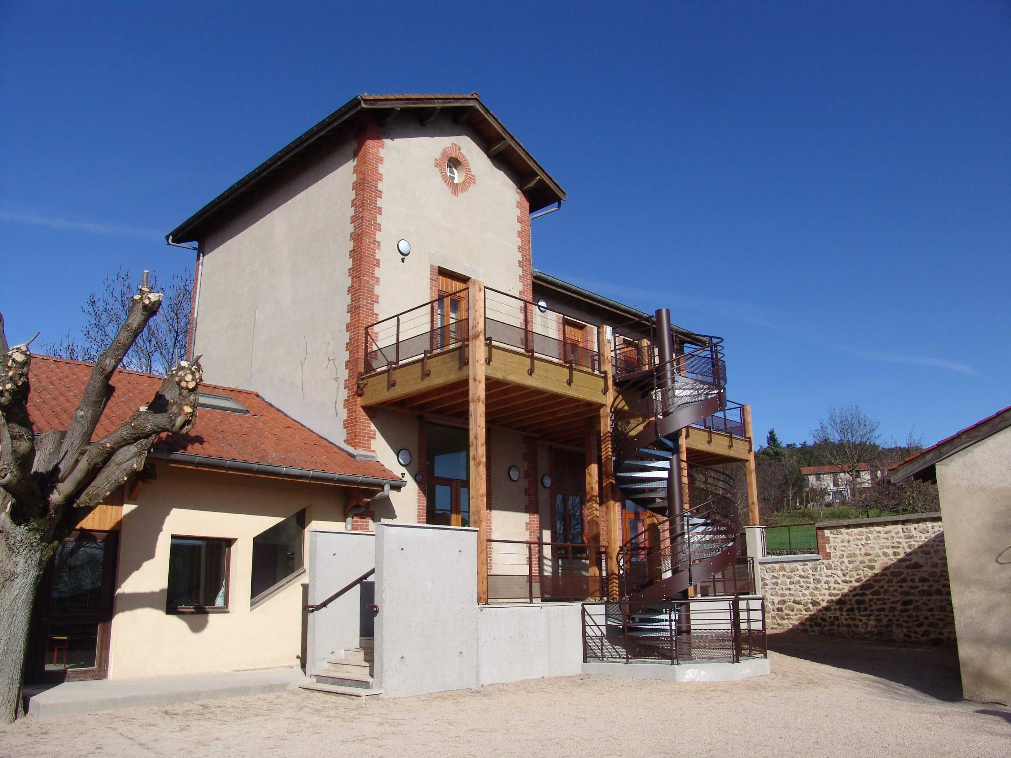 Rénovation de l'école publique de Bard