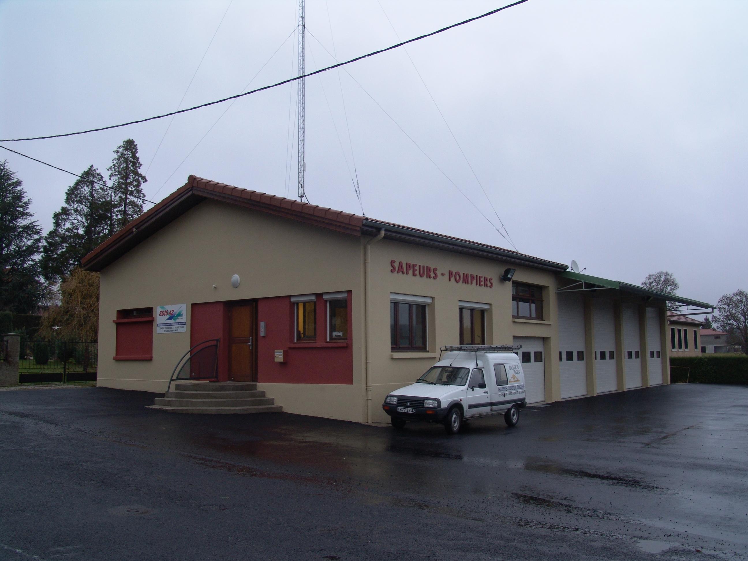Création du Centre d'Incendie et de Secours.