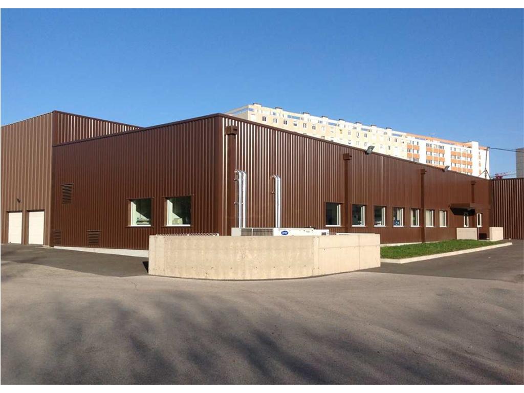 EXTENSION D'UN BATIMENT:  Création d'un atelier mécanique en classe ISO 7