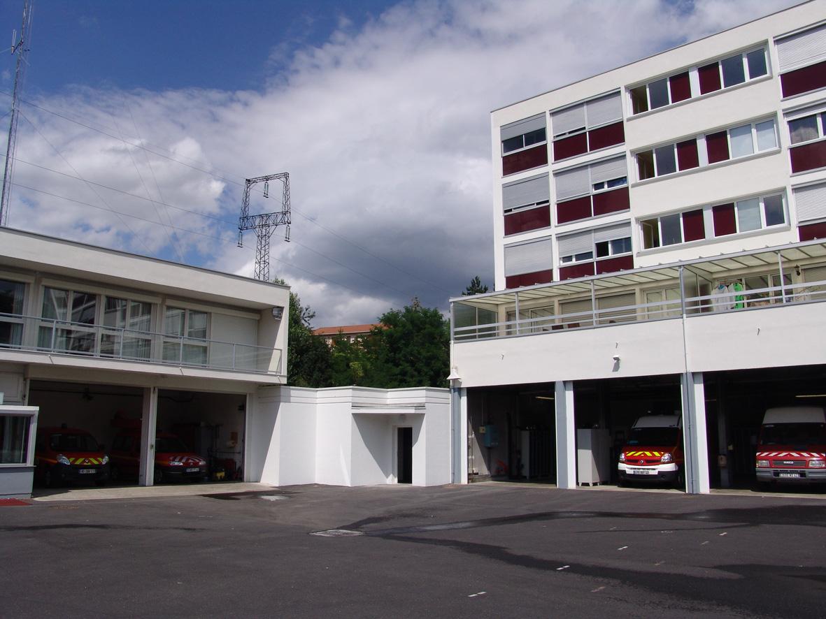 Extension et réaménagement intérieur  du Centre d'Incendie et de Secours